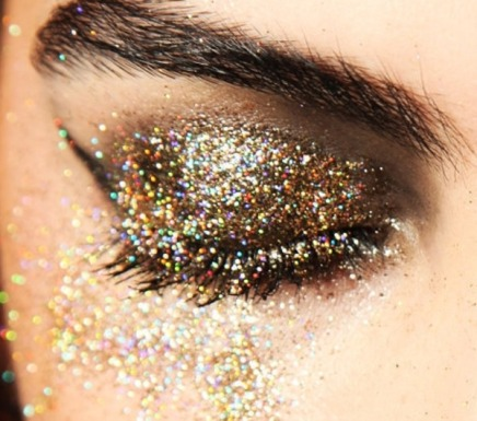 Can 30-somethings still wear glittery eyeshadow?
